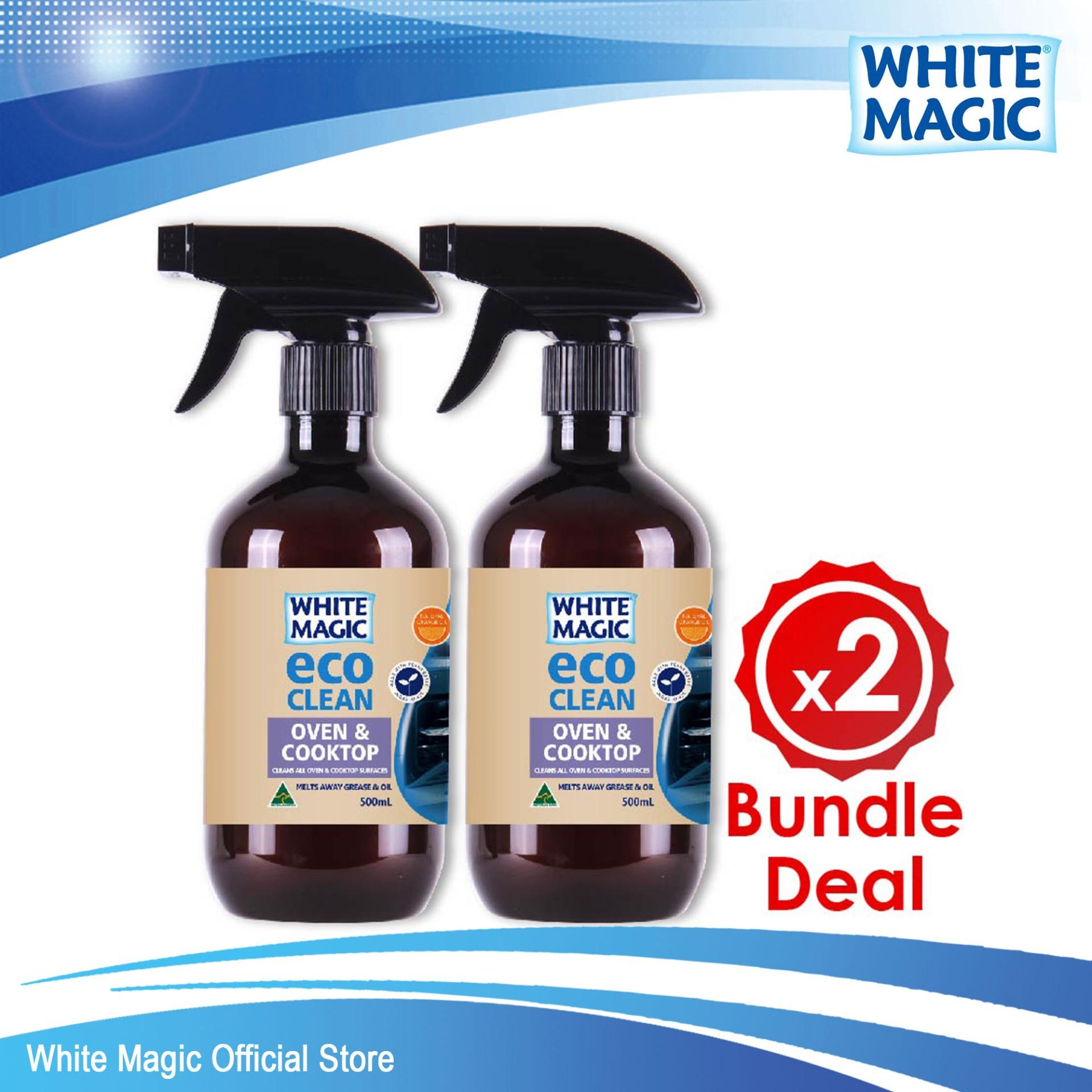 Bundle Deal White Magic Eco Clean Oven Cooktop X 2 Promo Code