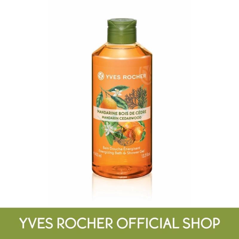 Buy Yves Rocher Energizing Mandarin Cedarwood Shower Gel Singapore