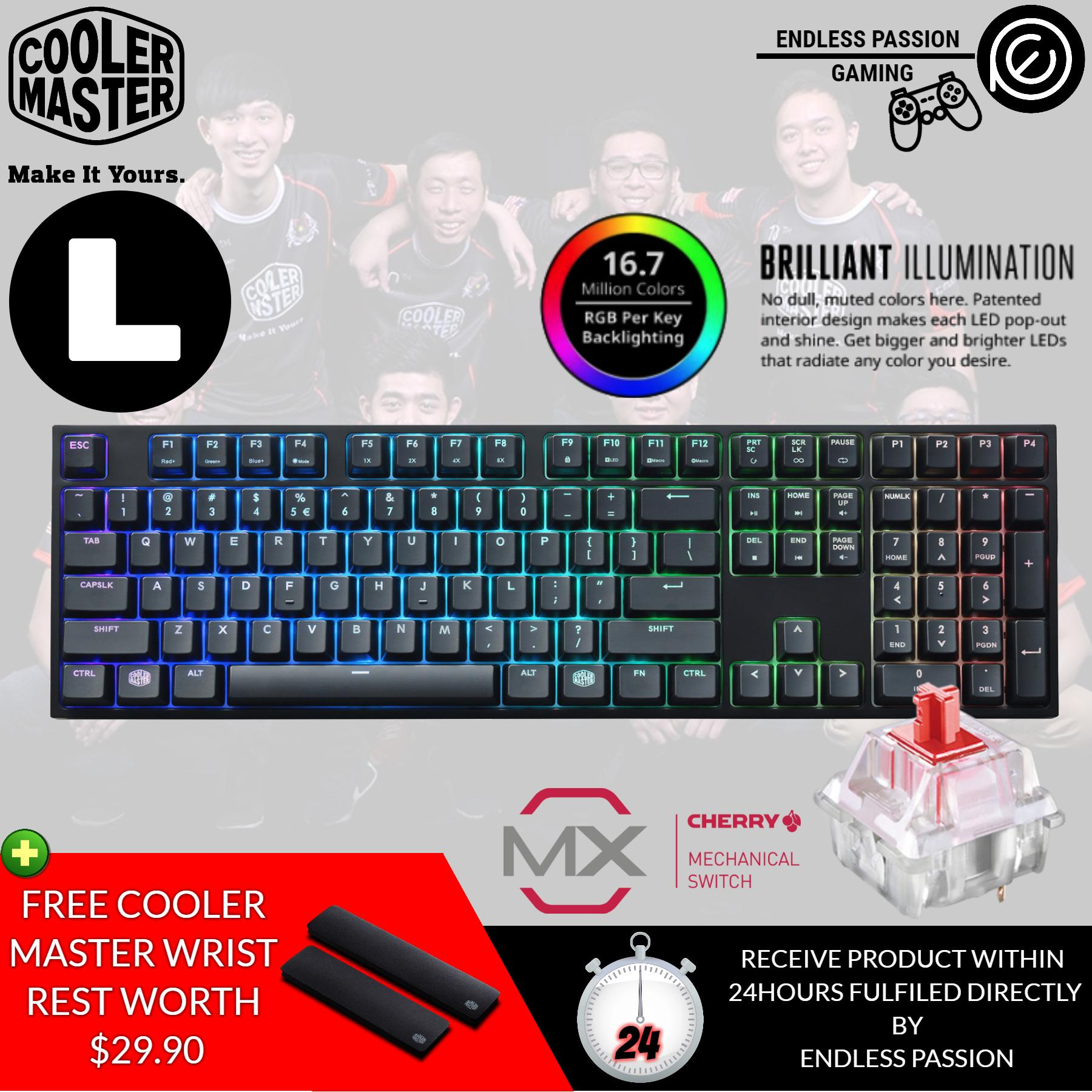 K70 Lux Rgb Mechanical Gaming Keyboard Cherry Mx Blue Price In Logitech G512 Gx Cooler Master Masterkeys Pro L Red Brown