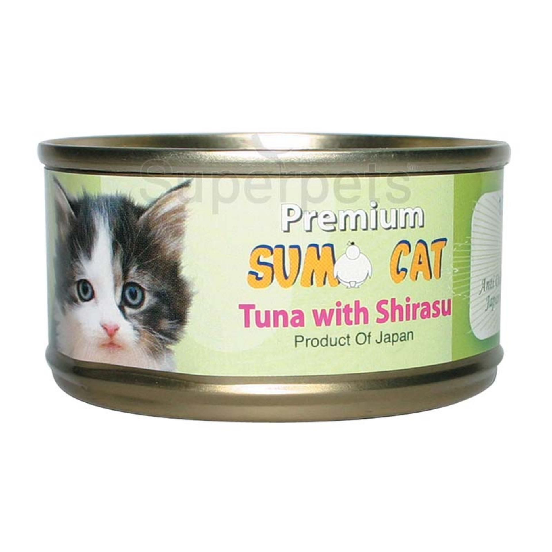 Discount Sumo Cat Tuna With Shirasu 80G 24Pcs Sumo Singapore