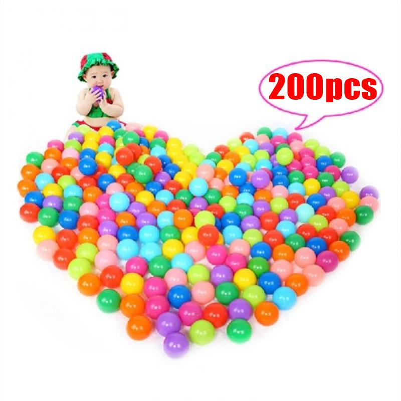 200 Pcs Ocean Wave Ball Children Park Color Ball Thick Naughty Fortball Softball - Intl By Poruis.