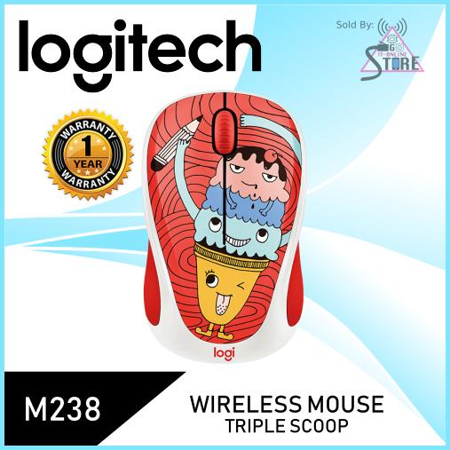 Logitech M238 Doodle Collection (Triple Scoop)