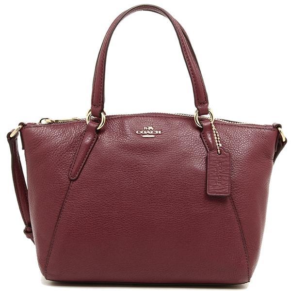 e6e299b220 Coach Mini Kelsey Satchel In Pebble Leather Handbag Crimson Red   F57563 +  Gift Receipt