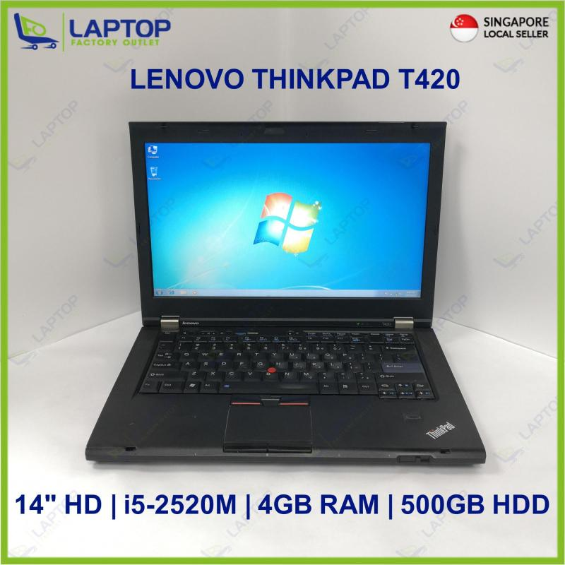 LENOVO THINKPAD T420 (i5-2520M/4GB/500GB HDD) @Deal Clearance@ Preowned [Refurbished]