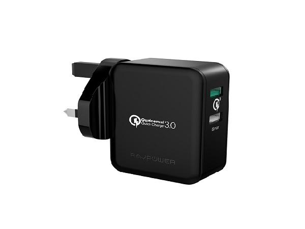 Best Buy Ravpower 30W Qualcomm Quick Charge 3 Wall Charger Rp Pc006