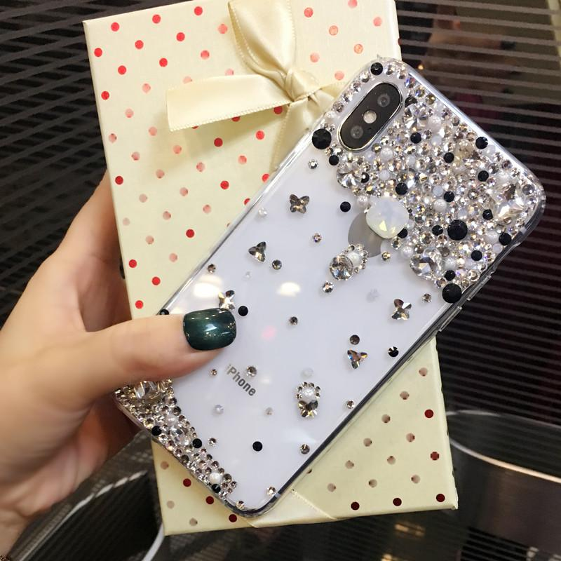 For Huawei Ascend G620s case Handmade Rhinestone Case Diamond Crystal peacock Cover Flower Leopard Phone case - intl