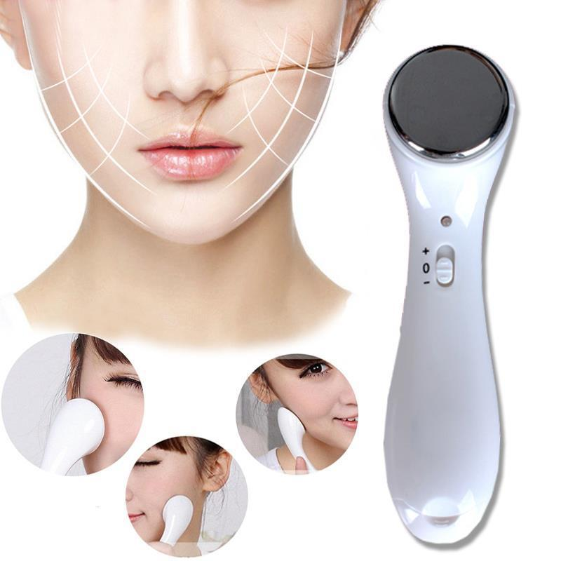 Acelit Ultrasonic Facial Cleaner Massager Peeling Face Skin Care Scrubber Body Machine