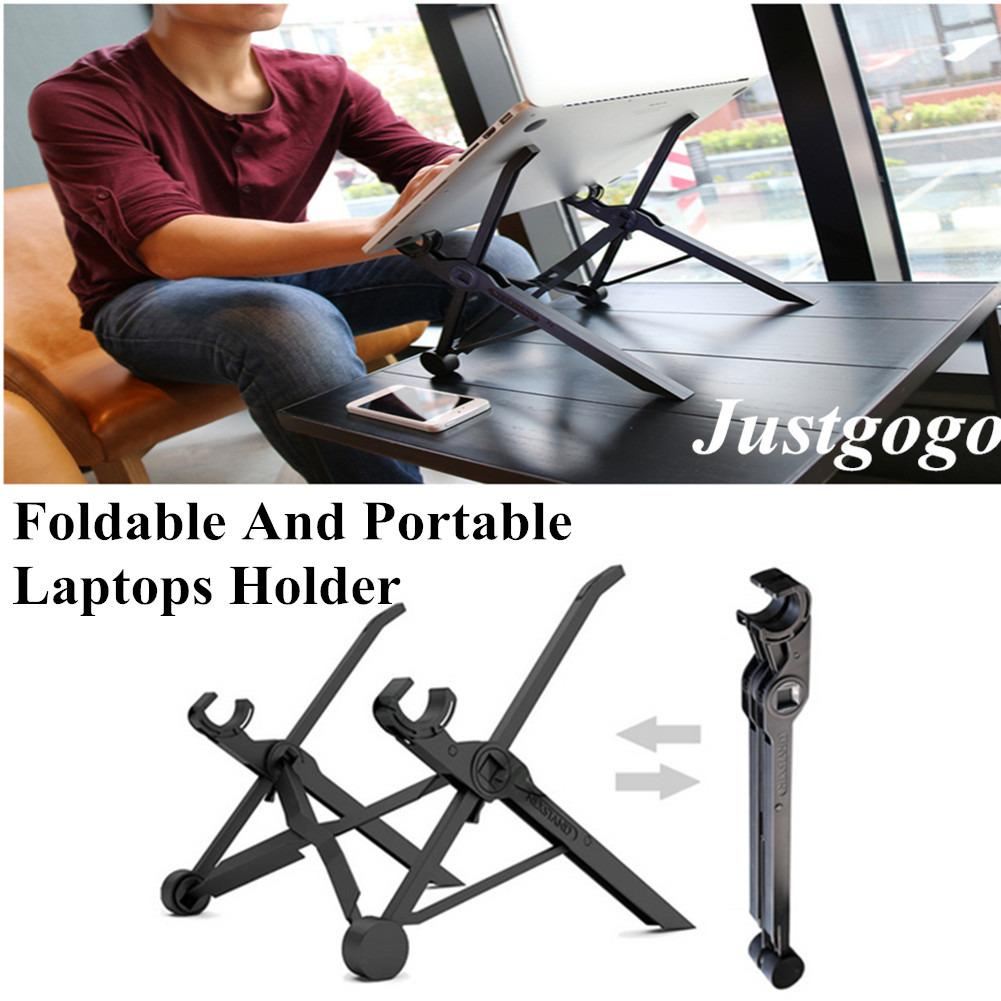 Justgogo Nexstand Foldable Laptop Stand ,adjustable Height,for Laptops Of 11 6Inch And Above Size For Sale Online