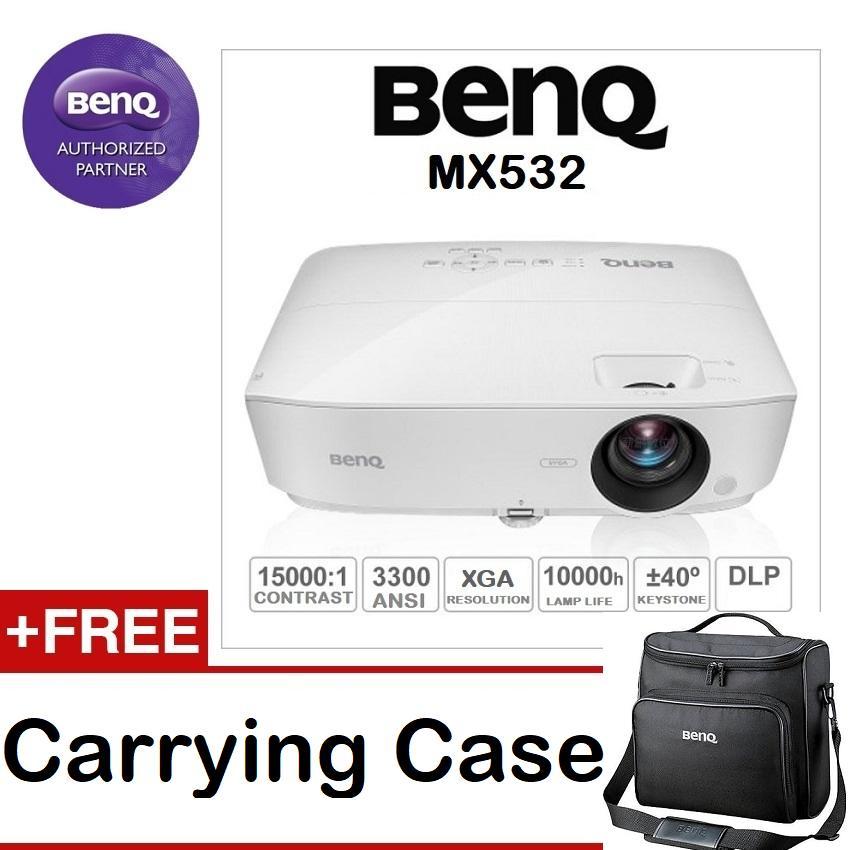 Latest Benq Mx532 Dlp Projector Xga 1024X768 3300 Ansi Lumens