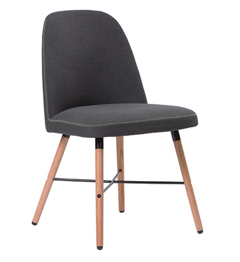 Discount Sheldon Stylish Dining Chair Grey Sheldon