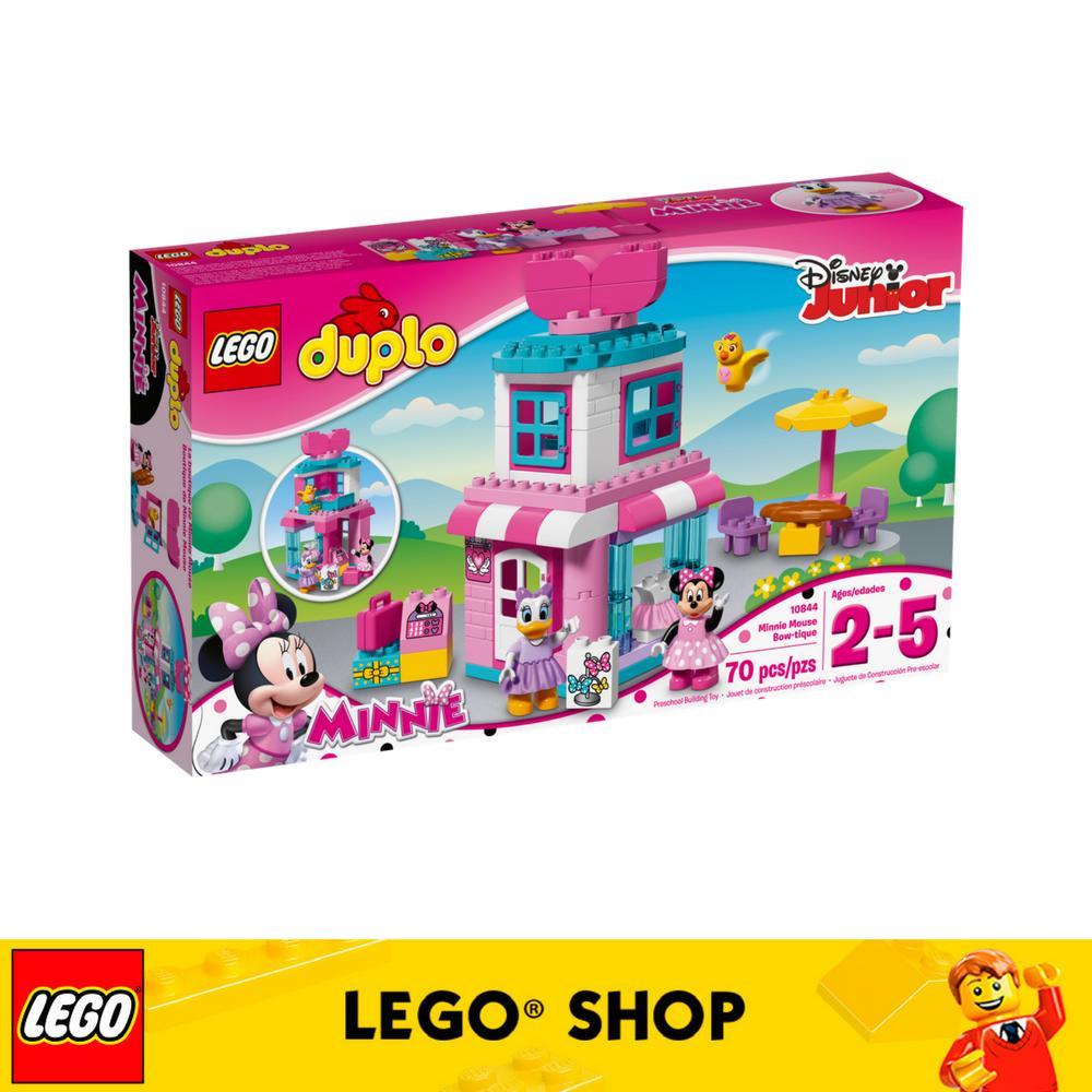 Sale Lego® Duplo Disney Tm Minnie Mouse Bow Tique 10844 Lego Branded