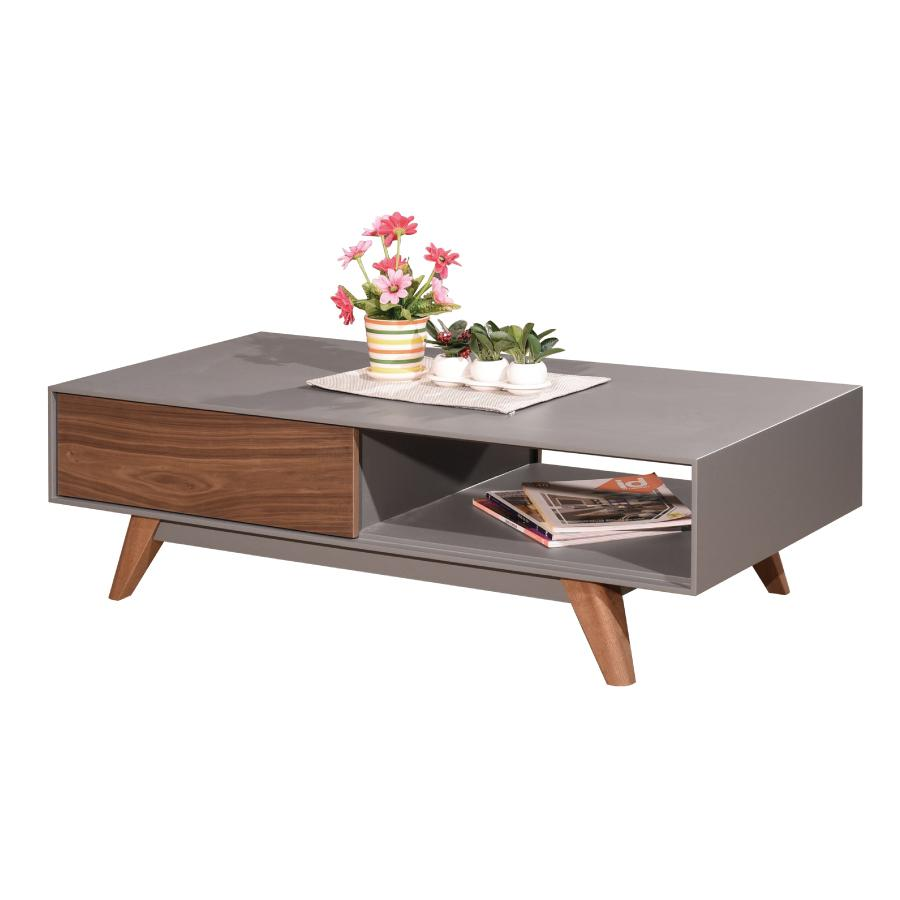 New Arrival - CT87 Rectangle Coffee Table Grey Walnut
