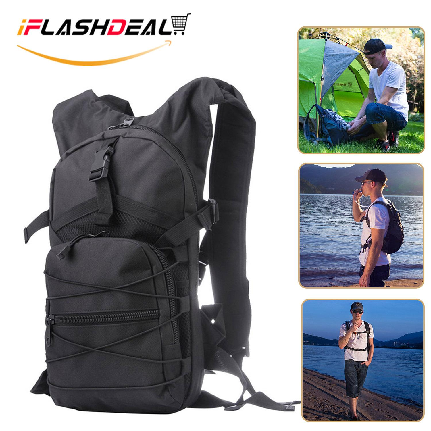 Iflashdeal Hiking Backpack Trekking Bag, Water-Resistant Travel Cycling Backpack, Lightweight Back Pack For Outdoor, Camping 15l By Iflashdeal.