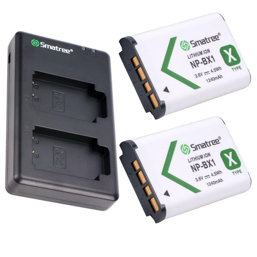 Who Sells The Cheapest Smatree 2 Pack Np Bx1 M8 Lithium Ion Battery Dual Charger For Sony Cameras 3 Year Local Warranty Online
