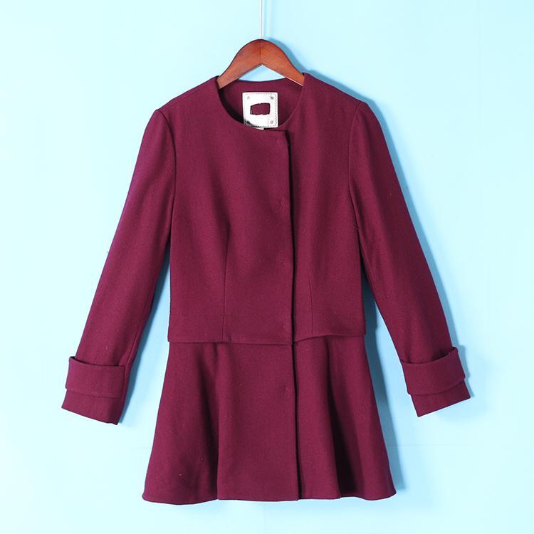 Cyber Baru Fashion Wanita Mantel Wol Cape Asimetris Keliman Mantel Source · Pemotongan Merek Mantel Wol