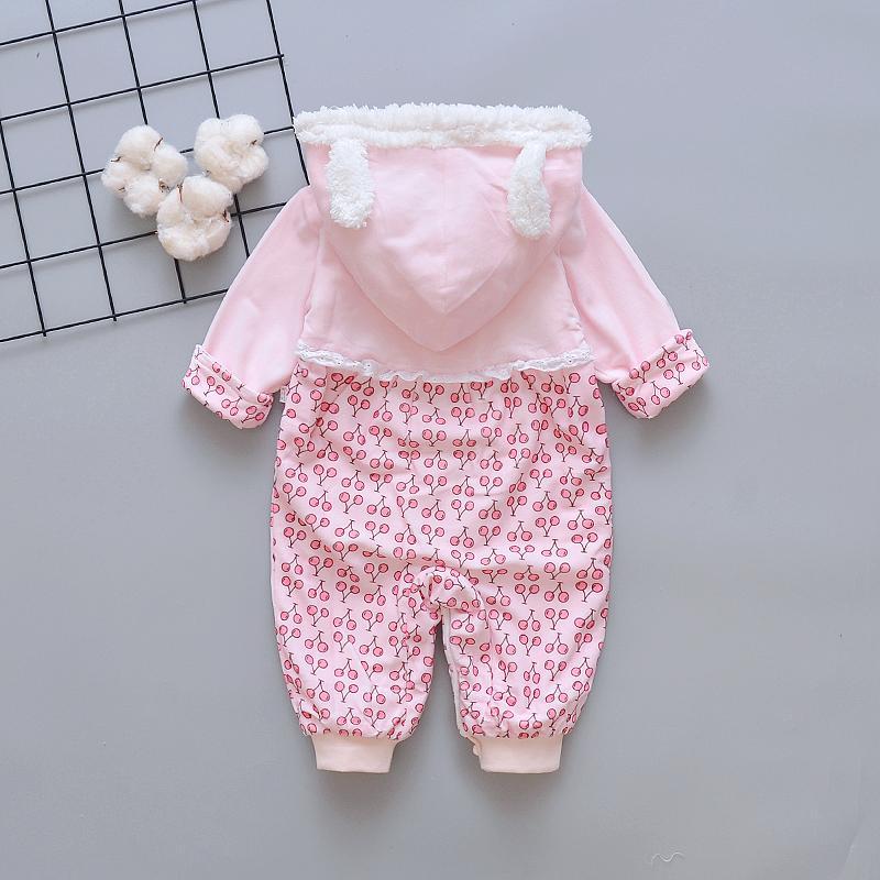 Detail Gambar Baju bayi terusan musim semi dan musim gugur jumper bayi Penghangat Baju pergi anak Beludru busana musim gugur Bayi baru lahir pakaian musim ...