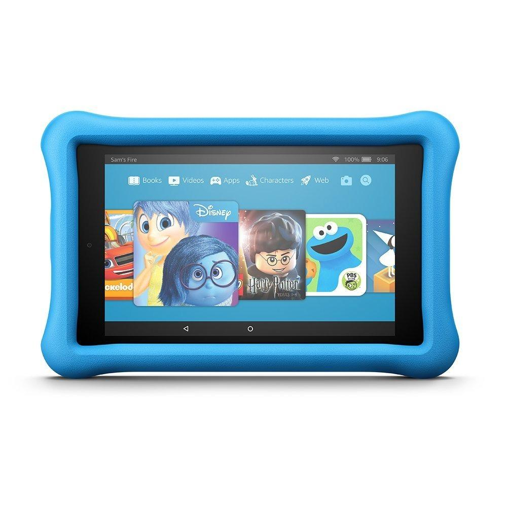 Fire Hd 8 Kids Edition Tablet 8 Hd Display 32 Gb Blue Kid Proof Case In Stock