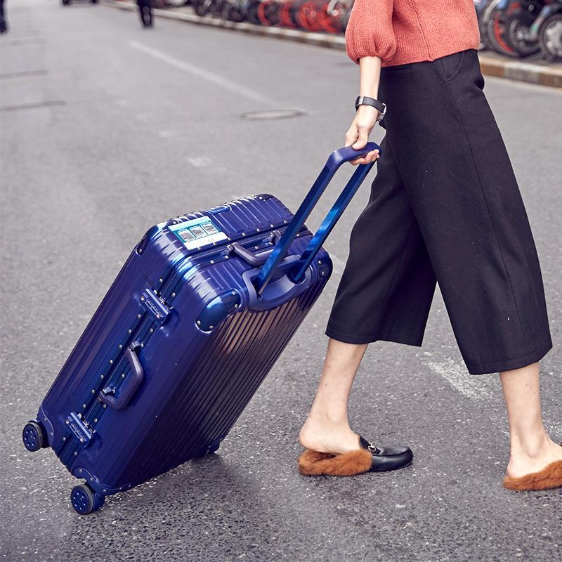 AS Aluminum Frame Trolley case, Universal Wheel Suit case
