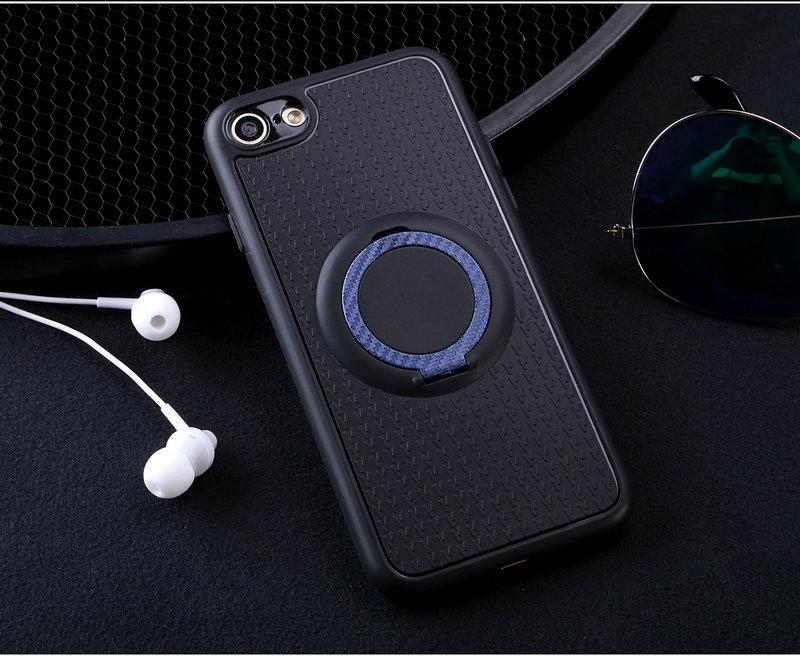 Case For Apple iPhone 6 / 6s Car Magnetic Suction Bracket Finger Ring Soft TPU Back Cover for Apple iPhone 6 / 6s Global Version - intl
