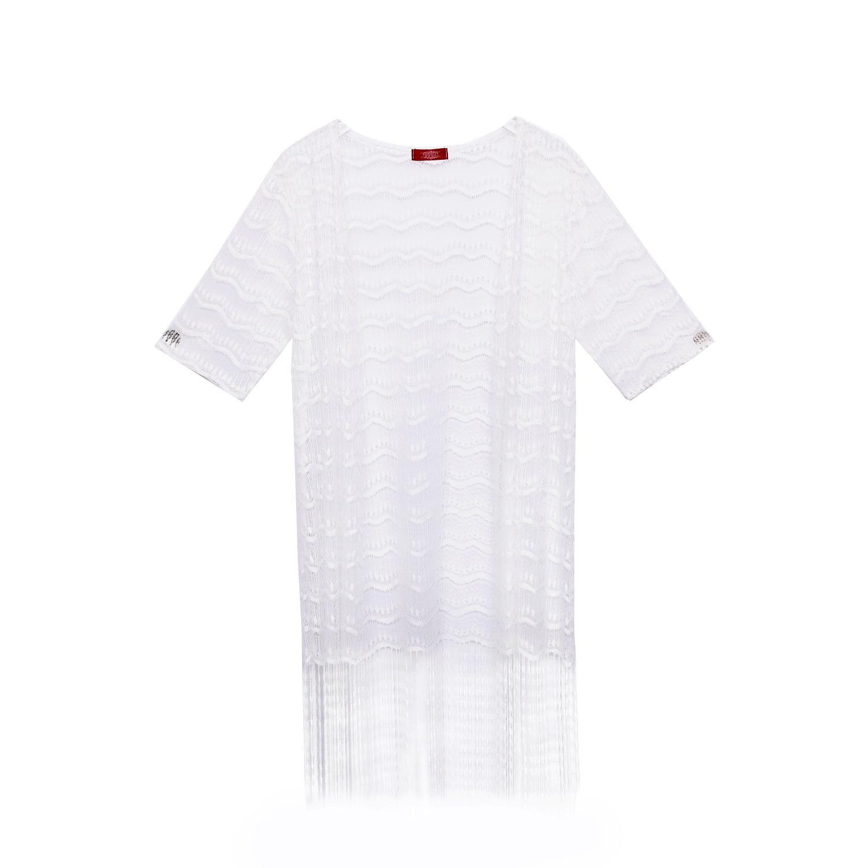 MM Kemeja Renda Rumbai Baju Pelindung Matahari Musim Panas Perempuan Baru