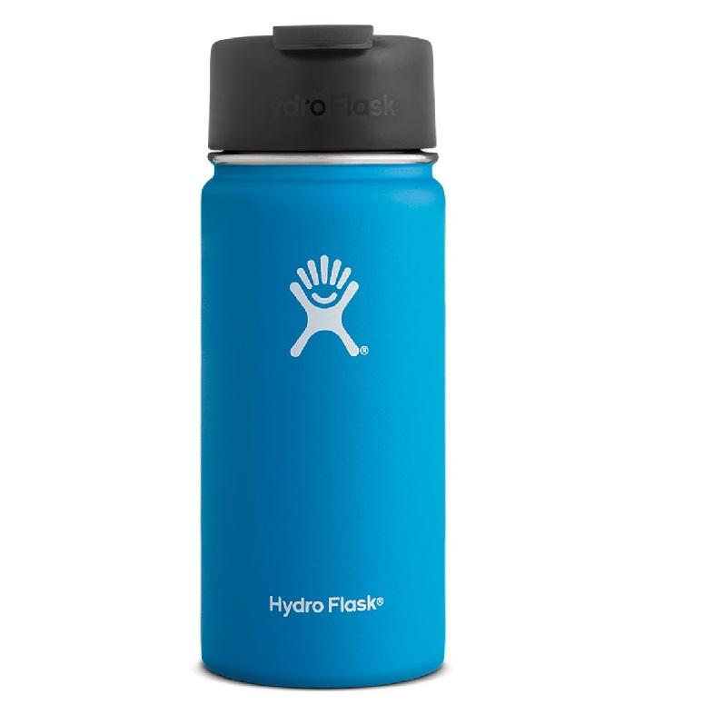 Hydro Flask 16Oz Wide Mouth Flip Lid Bottle Pacific For Sale