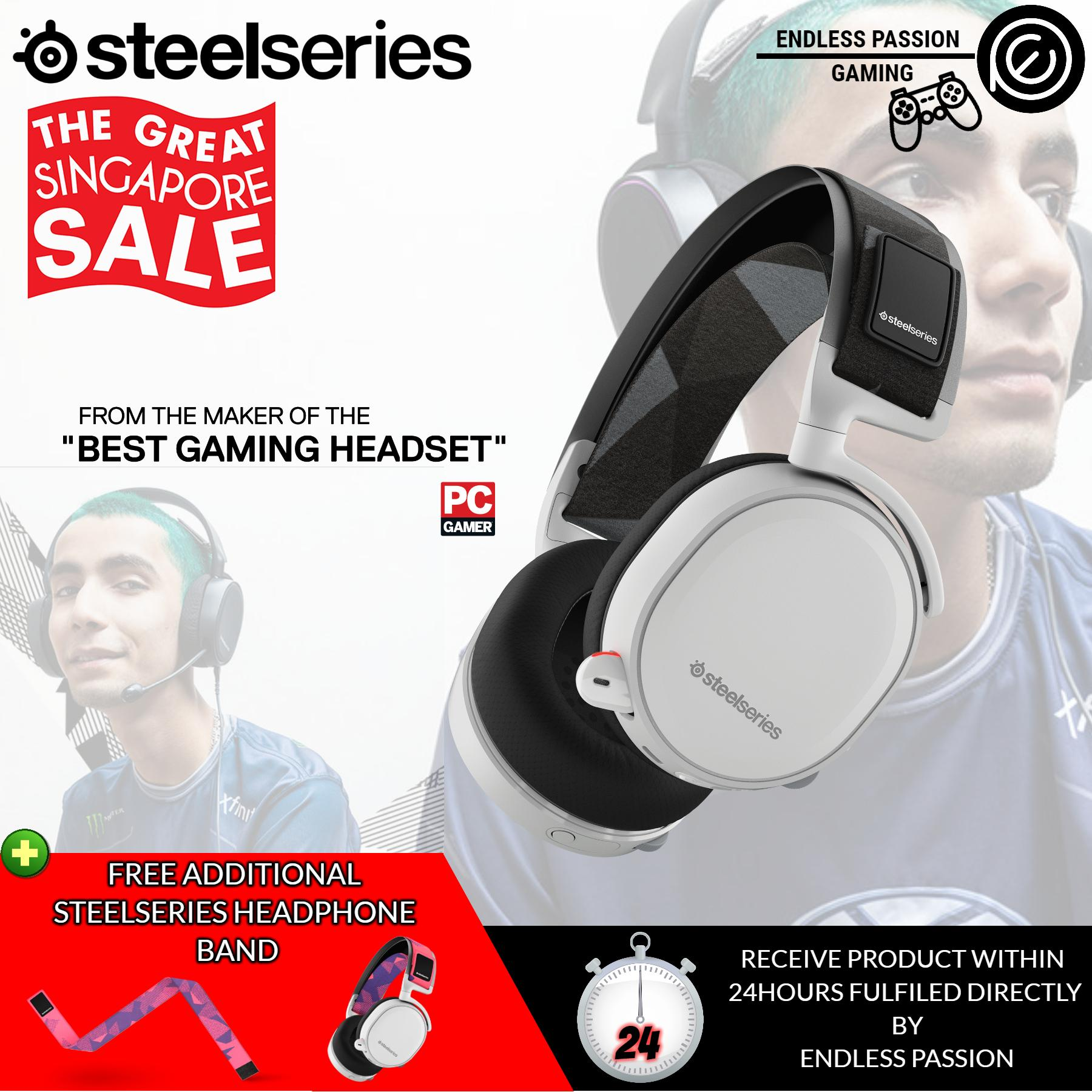 Best Price Steelseries Arctis 7 Lag Free Wireless Gaming Headset With Dts Headphone X 7 1 Surround For Pc Playstation 4 Vr Mac And Wired For Xbox One Android And Ios