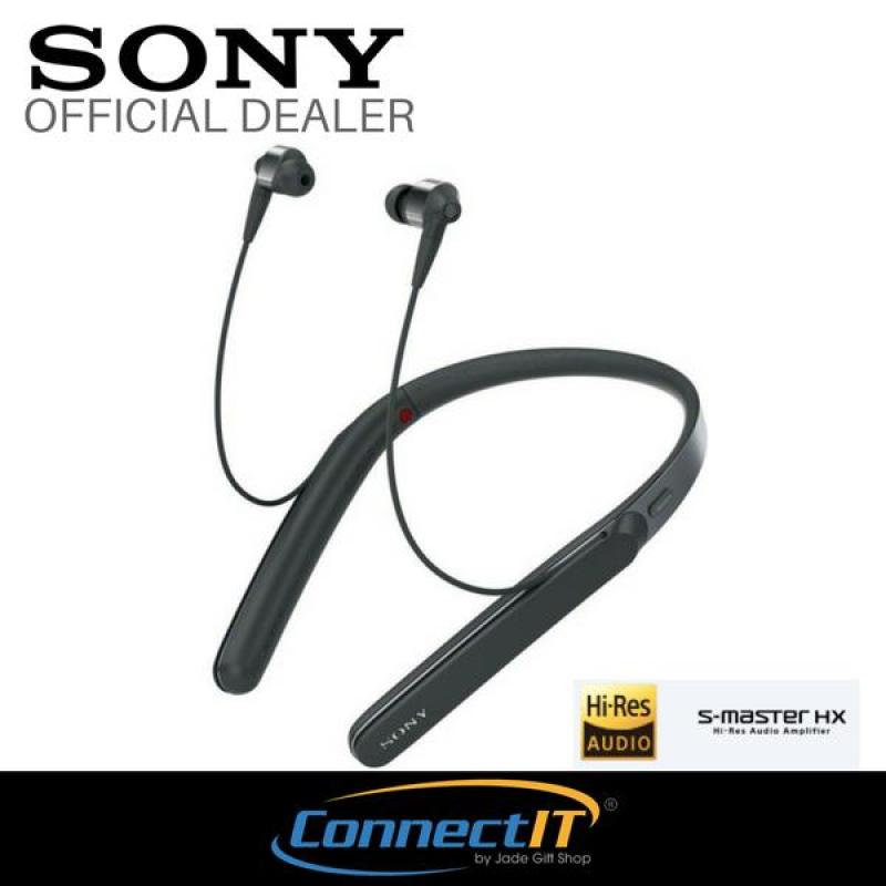 Sony WI-1000X Premium Noise Cancelling Wireless Behind-Neck In Ear Headphones - Black Singapore
