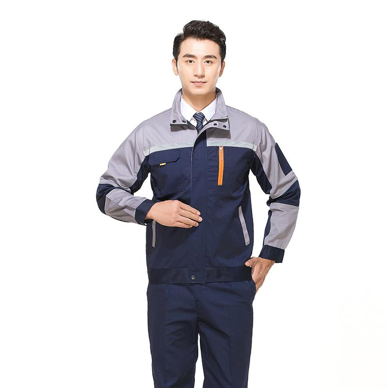 a9e89a034c18 New Style Mixed Colors Work Suit man Long Sleeve Spring And Summer Factory  Workshop WorkWear Labor