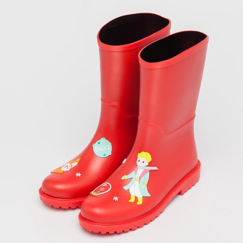 Musim semi dan musim panas fashion kecil sepatu Ringan sepatu bot hujan dewasa sepatu anti air Anti Selip Sepatu karet Sedang sepatu boots hujan wanita Tahan Air
