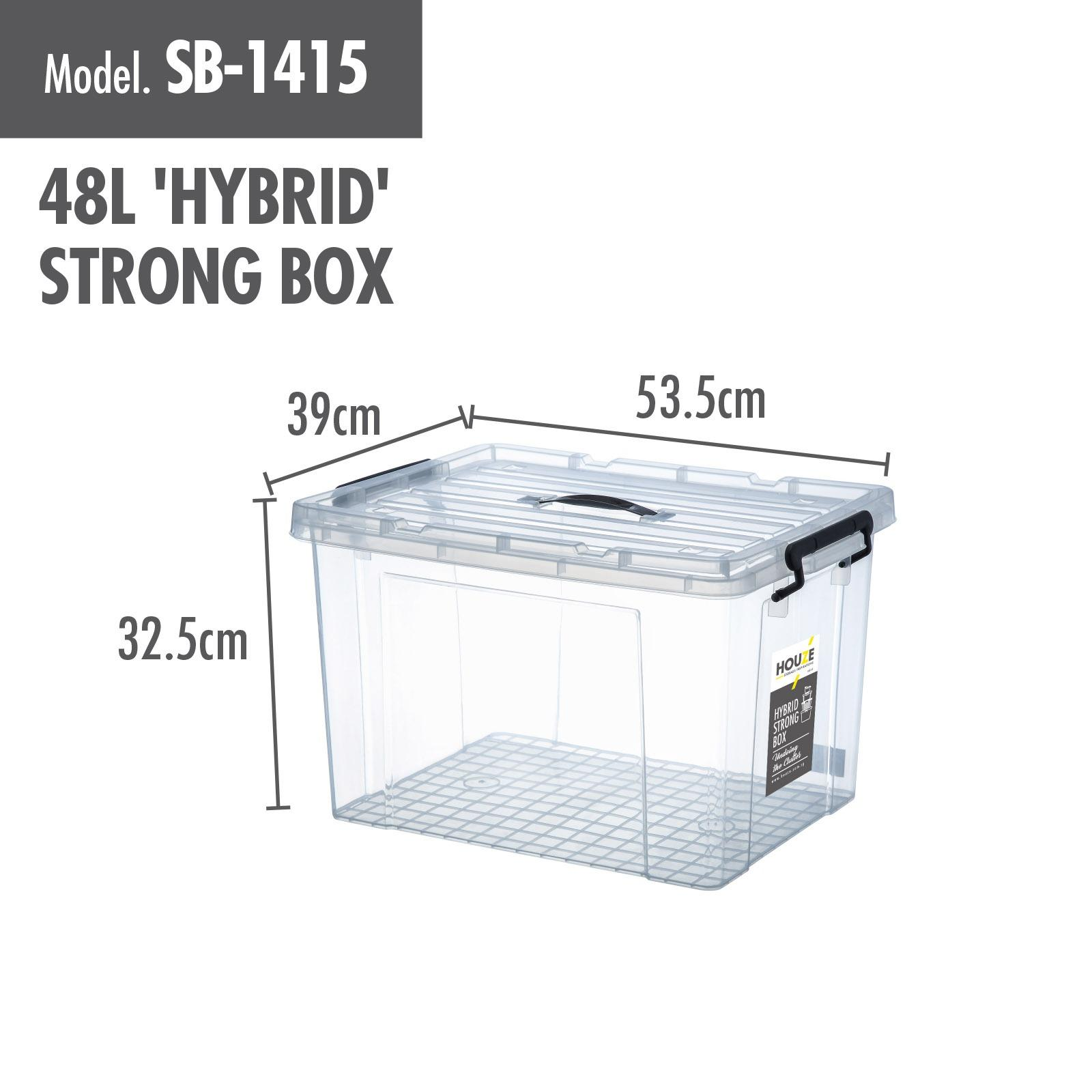 Buy Houze 48L Hybrid Strong Box Online Singapore