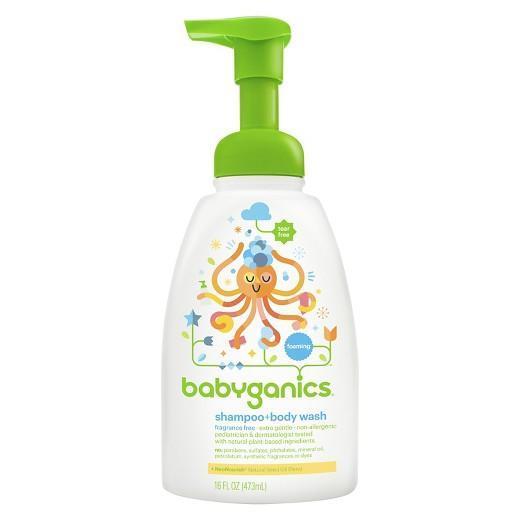 Recent 16Oz Babyganics Baby Shampoo And Body Wash Fragrance Free 16Oz 473Ml