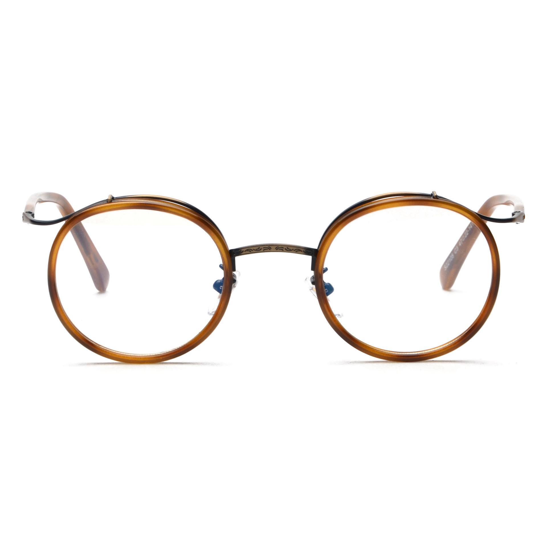 S22105 Korea TR90 retro logam kacamata rabun bingkai laki-laki pasang  perempuan kacamata rabun bingkai abc4f0d4f9
