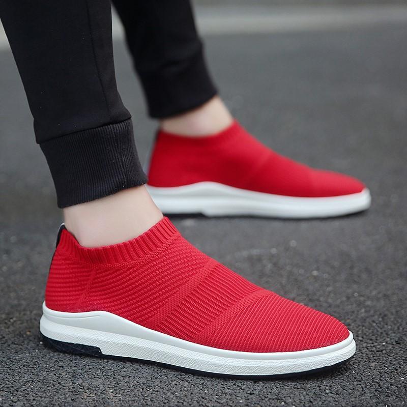 Fitur Sepatu Oxford Pria Kasual Breatabhle Jaring (merah) (merah ... 6eba1b53ec