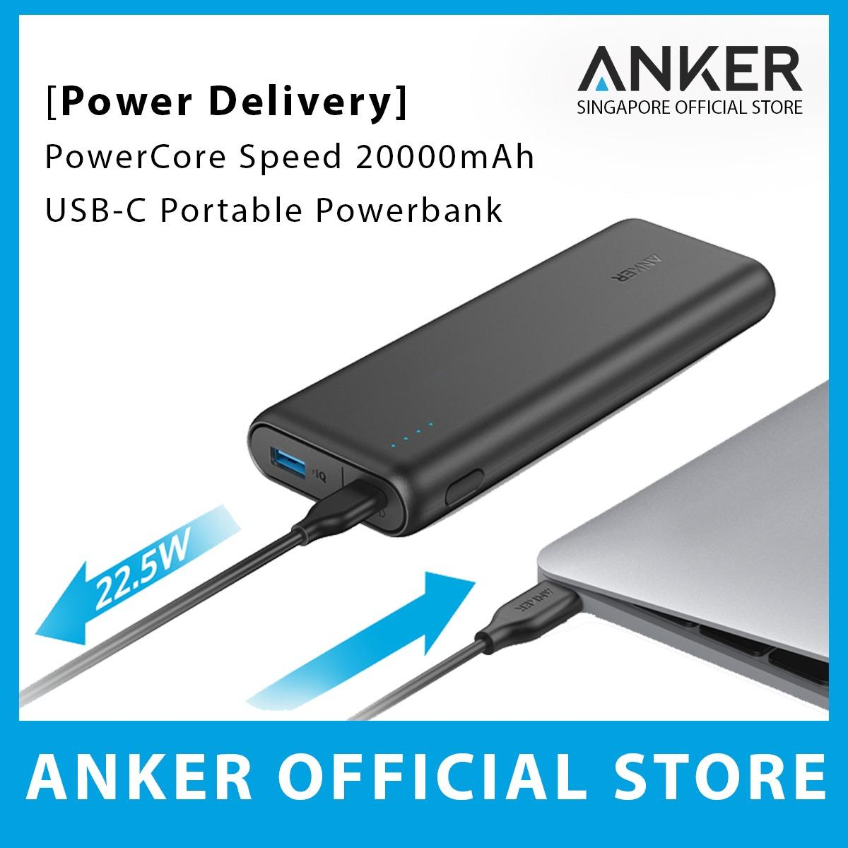 Best Power Delivery Anker Powercore Speed 20000Mah Pd Portable Charger