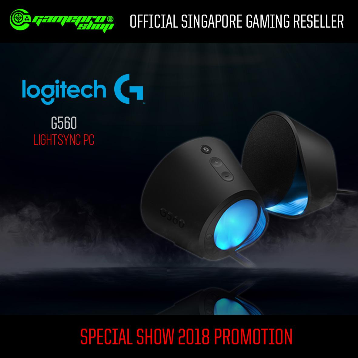Logitech G560 Lightsync Pc Gaming Speaker Singapore Multimedia Z213 Original