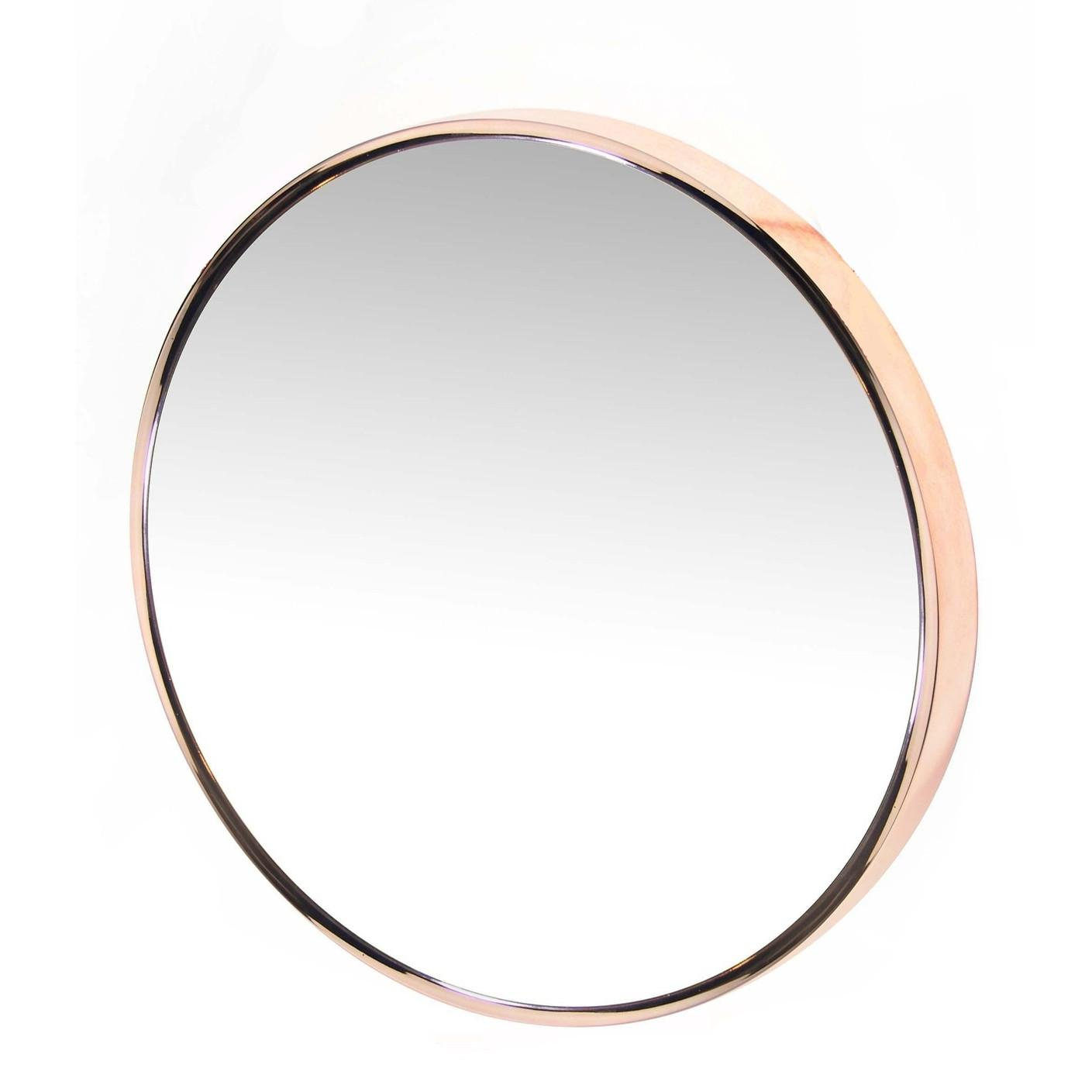 Rose Gold Bathroom Wall Mirror New Modern Colors Home Decor Household