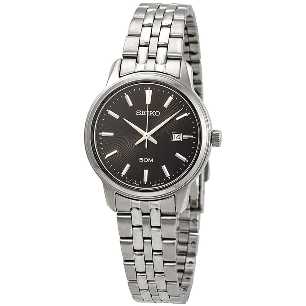 Seiko Watches Price In Malaysia Best Lazada Two Tone Analog Watch Original Brand New Neo Classic Silver Stainless Steel Case Bracelet Ladies Sur663p1