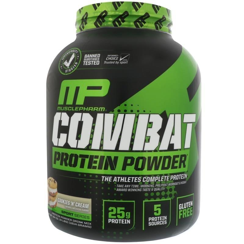 MusclePharm Combat Powder 4lb Cookies & Cream