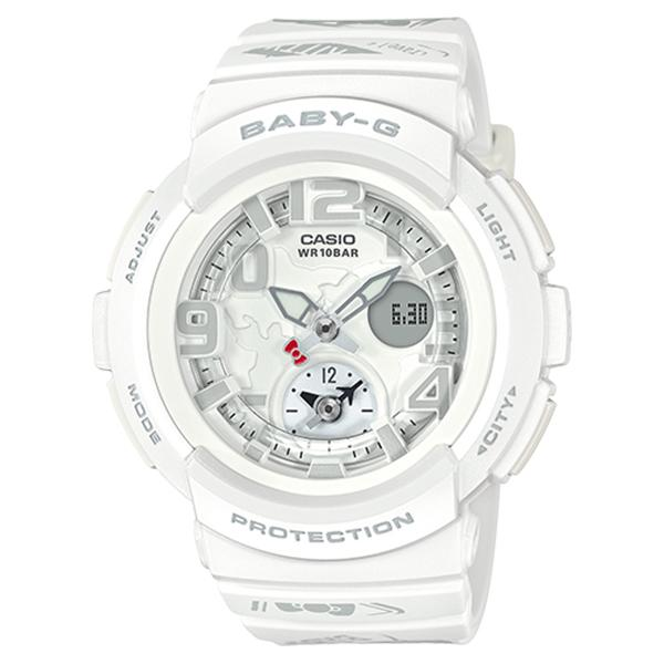 Casio Baby G X Hello Kitty Limited Edition White Resin Band Watch Bga190Kt 7B Bga 190Kt 7B Shop
