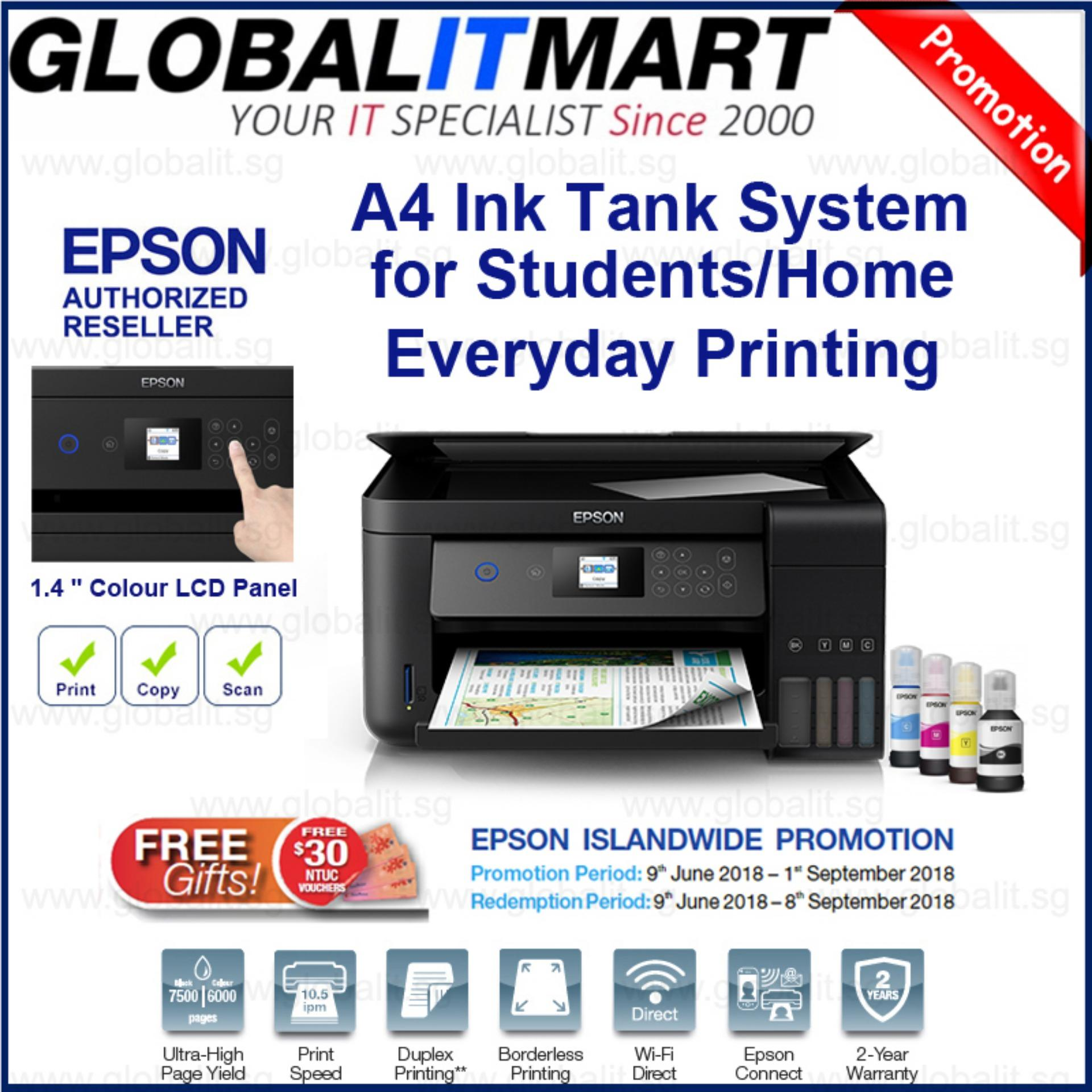 Sale Epson L4160 Wi Fi Duplex All In One Ink Tank Printer