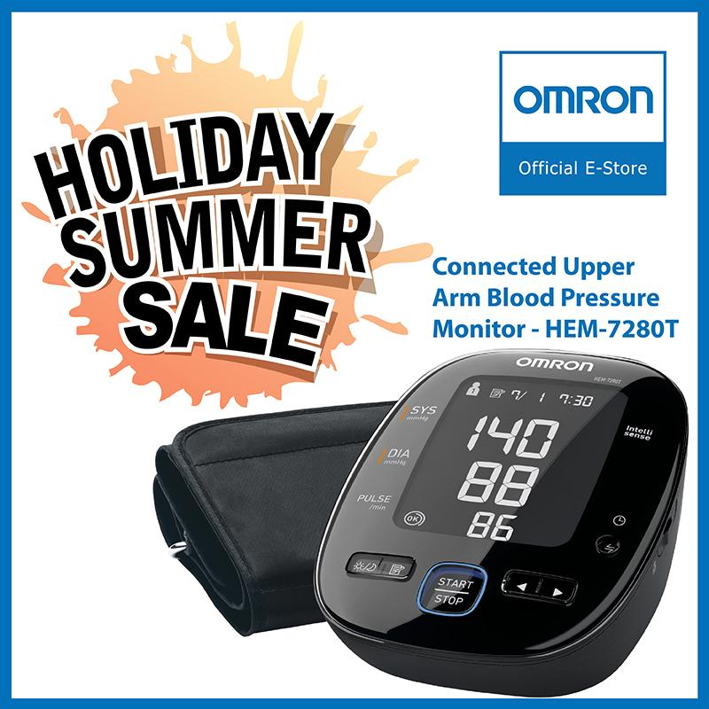 Cheapest Omron Connected Upper Arm Blood Pressure Monitor Hem 7280T Online