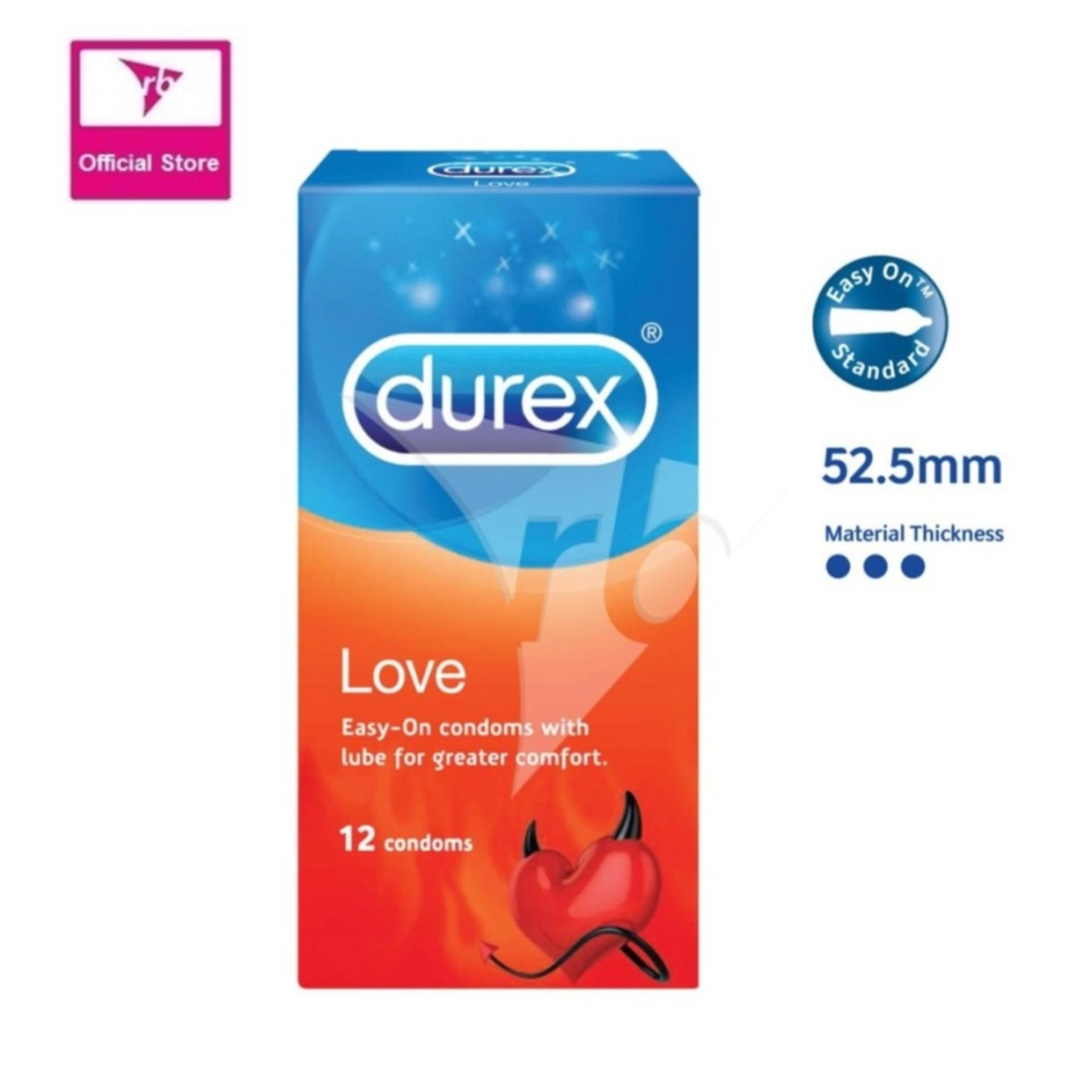Durex Love Condoms 12S Lower Price