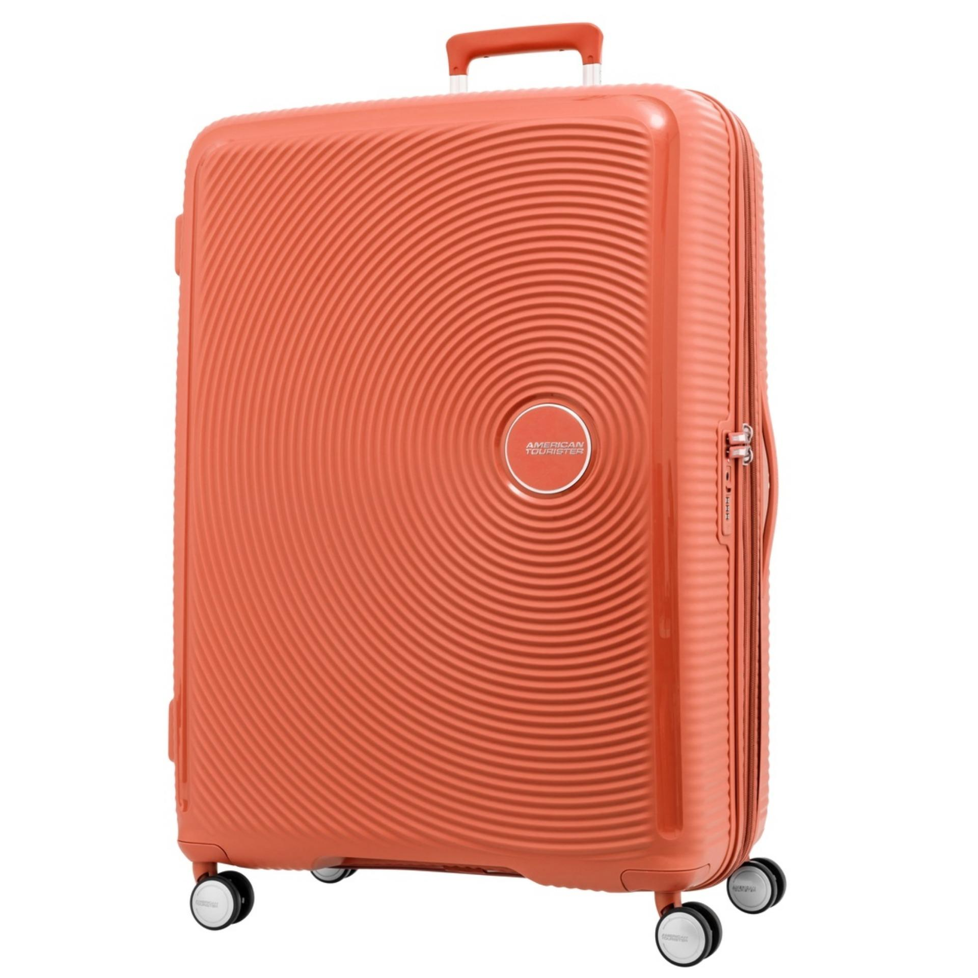 Sale American Tourister Curio Spinner 80 30 Exp Tsa Spicy Peach American Tourister Branded