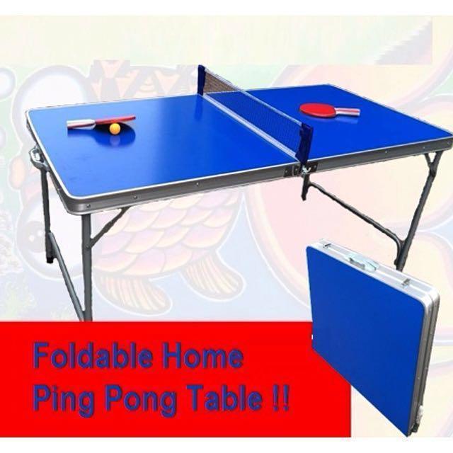 Foldable Table Tennis Ping Pong Set