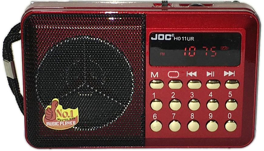 List Price Joc Rechargeable Usb And Microsd Slot Mini Digital Mp3 Player Fm Radio H011Ur Intl Joc