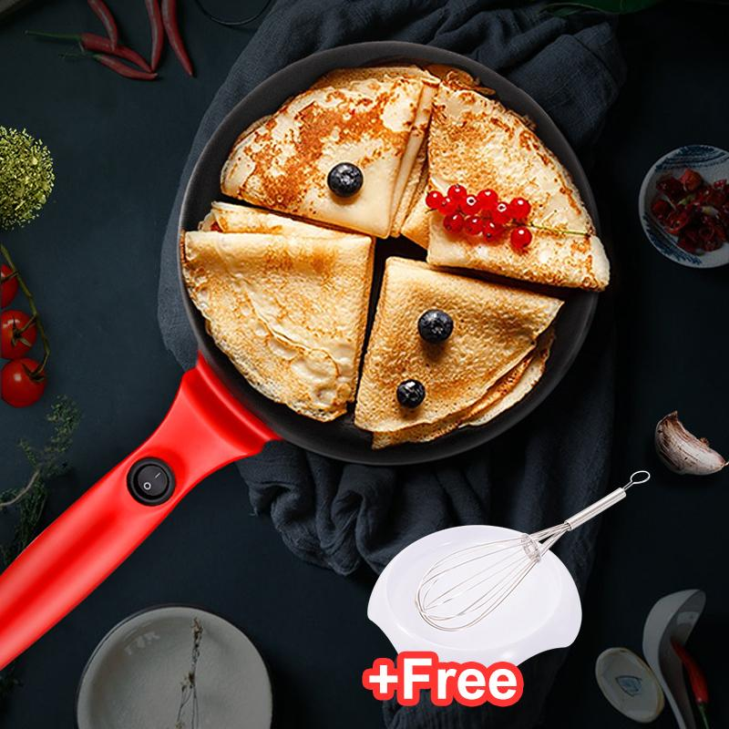 Deals For Electric Griddle Crepe Maker Pan Style Hot Plate Cooktop Nonstick Coating Automatic Temperature Control Plug In Operation For Kitchen Countertop Intl