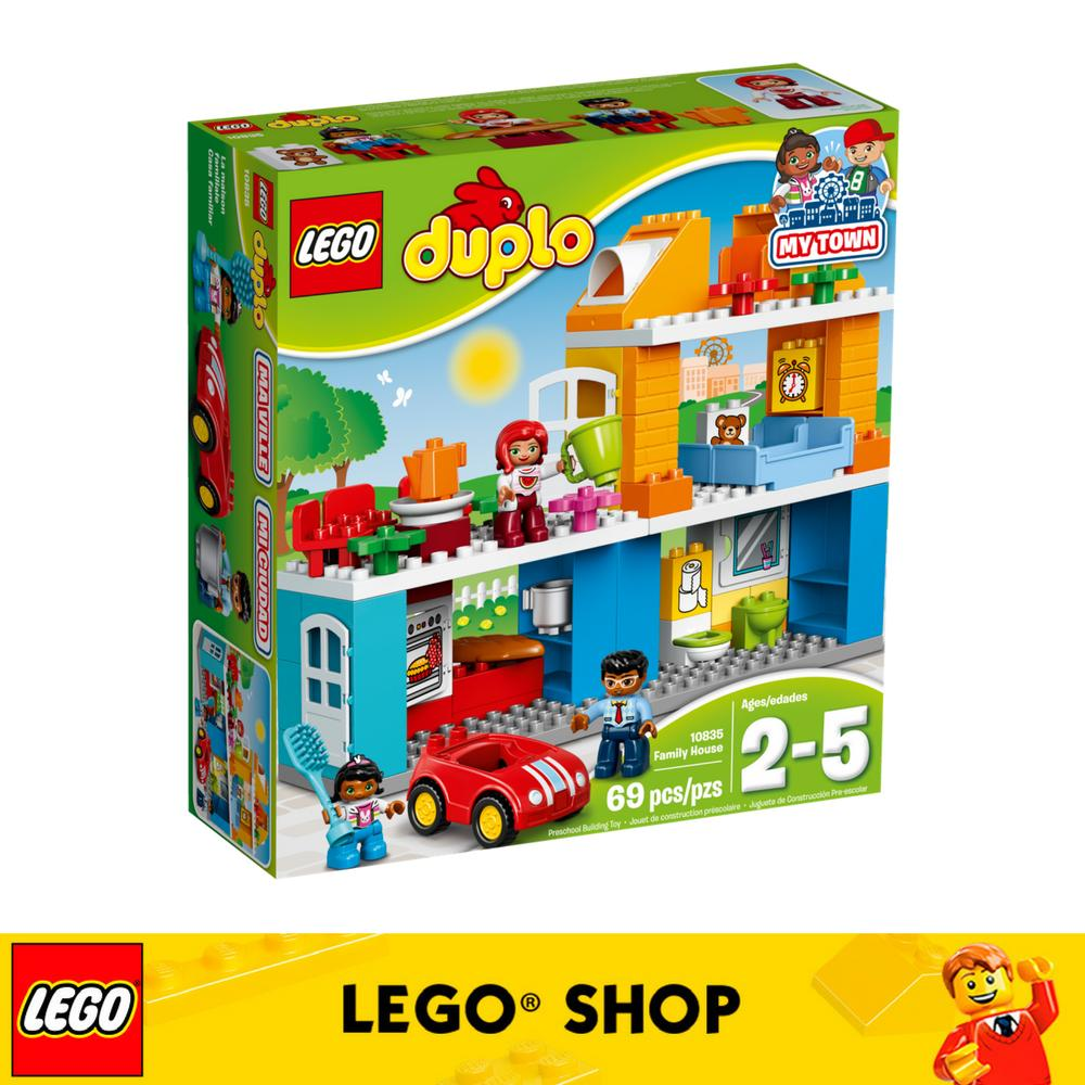 Brand New Lego® Duplo Town Family House 10835