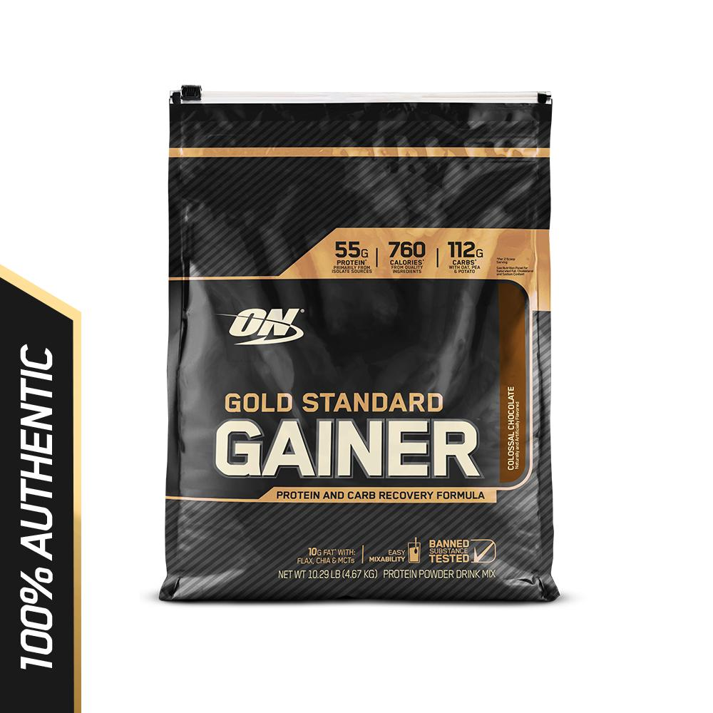 Price Optimum Nutrition Gold Standard Gainer 10 Lbs Colossal Chocolate Online Singapore