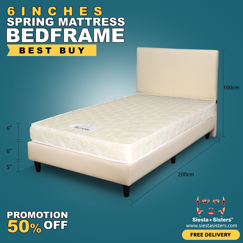 Buy High Quality Beds | Bedroom Furniture | Lazada.sg
