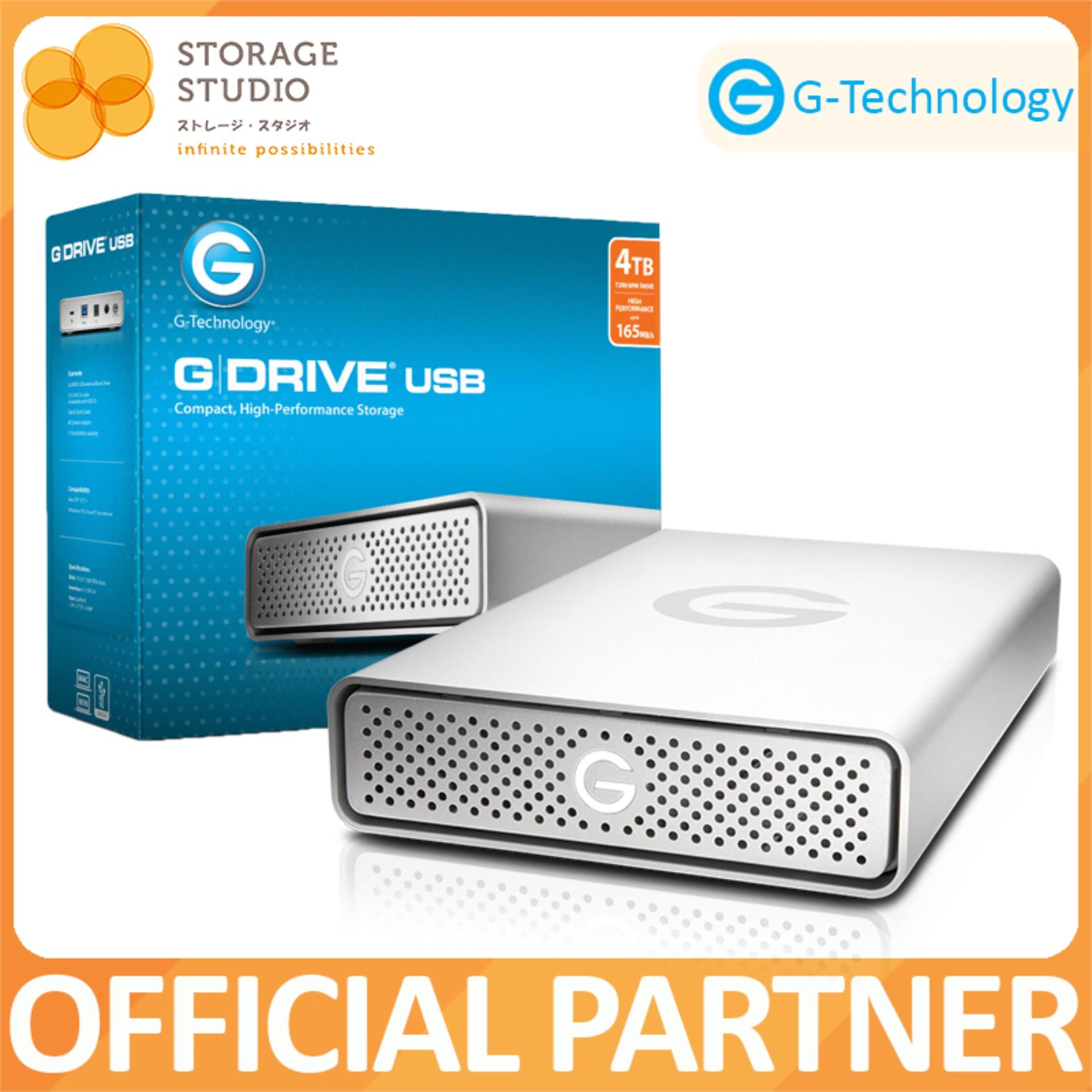 Top 10 G Technology G Drive® 4Tb Usb3 External Hard Drive